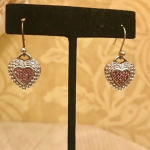 Brighton French Wire Swarovski Crystal Earrings